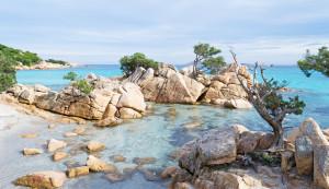 Costa Smeralda Sardinie - Smaragdové pobřeží