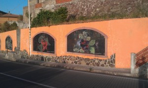 Murales Montresta - květiny