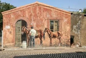 Murales Tinnura - koně