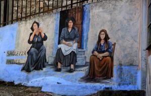 Murales Orgosolo -  ženy
