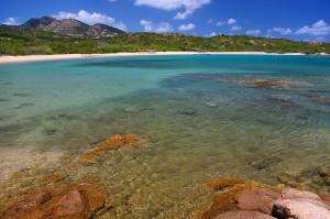 pláž Liscia Ruja