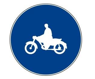 IT pruh vyhrazený motorkám