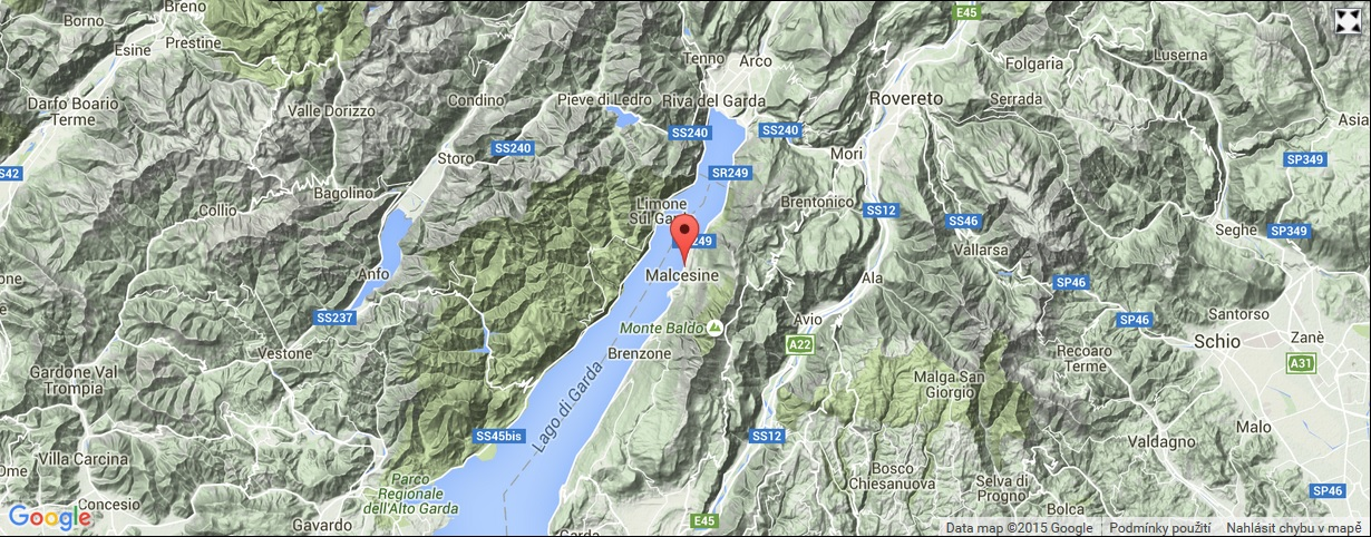 Hotel Garni Ischia_mapa